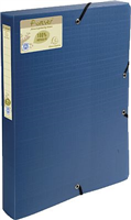 Archivbox forever , blau, Rücken 40mm, Exacompta 553572E
