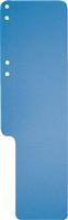 Aktenschwänze lang, Seitenfalz,genutet,gelocht Exacompta 13707B