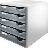 Bürobox 5 Schübe Leitz 5280-00-89