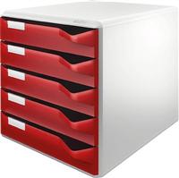 Bürobox 5 Schübe Leitz 5280-00-25