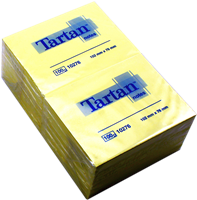 Haftnotizen 76x102mm Tartan 10276