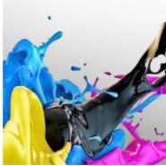 Farbenpracht mit einem Fotodrucker