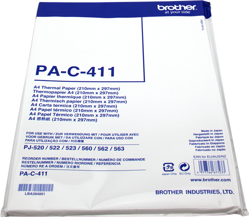Thermopapier-Brother-PAC411