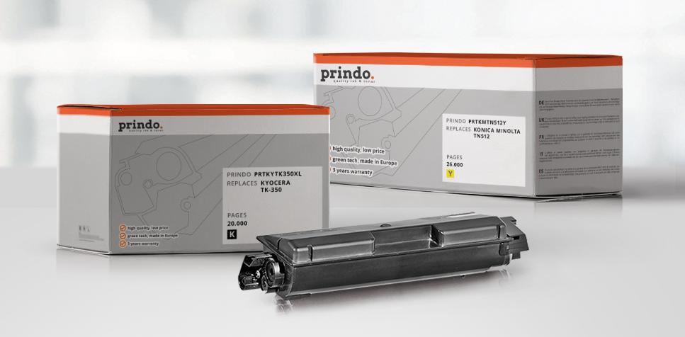 Druckerzubehör: Rebuild-Toner von Prindo