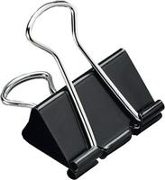 Foldback-Klammern, schwarz, 32mm, Inh. 12 5 Star 296875