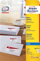 Inkjet-Etiketten AVERY Zweckform J8177-25