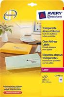 Laser-Etiketten AVERY Zweckform L4770-25