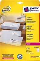 Laser-Etiketten QuickPeel AVERY Zweckform L7160-40
