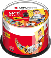 CD-R 700 MB (50er Cakebox) Agfa Photo 400002