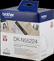Etikettenrollen Brother DK-N55224