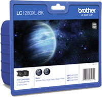 Multipack Brother LC-1280XLBKBP2DR