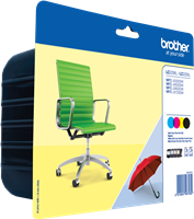 Multipack Brother LC-225XL-LC-229XL