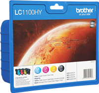 Multipack Brother LC1100HYVALBPDR