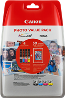 Canon CLI-551 Photo Value Pack