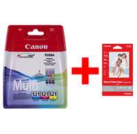 Multipack Canon CLI-521z