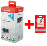 Multipack Canon CLI-8 5pack