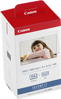 Value Pack Canon KP-108IN
