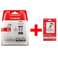 Multipack Canon PGI-570pgbk XL Twin