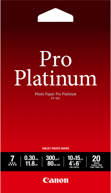 Fotopapier Canon PT-101 10x15