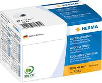 Adressetiketten HERMA 4341