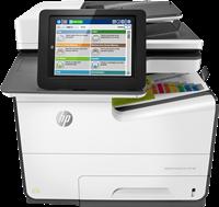 Multifunktionsgerät HP PageWide Enterprise Color MFP 586dn