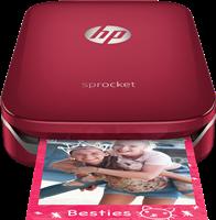 Fotodrucker HP Sprocket, rot