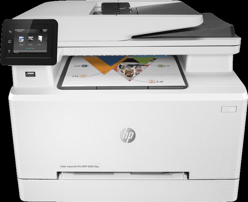 Multifunktionsdrucker HP Color LaserJet Pro MFP M281fdw