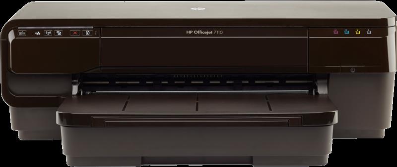Tintenstrahldrucker HP Officejet 7110