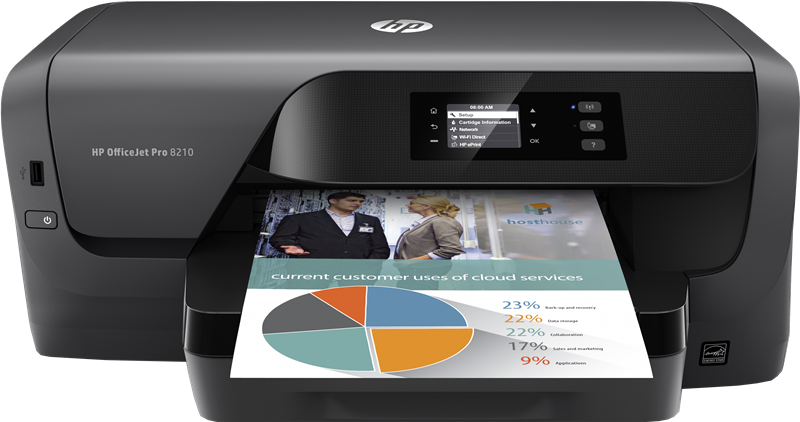 Multifunktionsdrucker HP Officejet Pro 8210