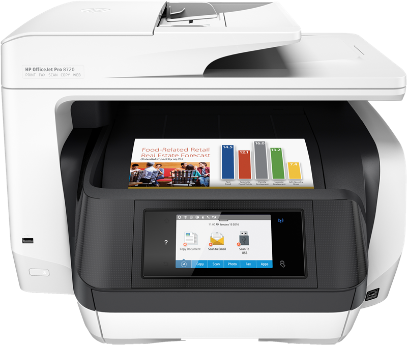 Multifunktionsdrucker HP Officejet Pro 8720