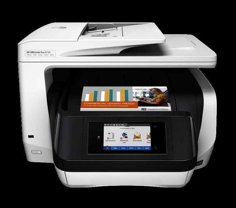 Multifunktionsdrucker HP Officejet Pro 8730