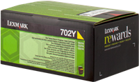 Toner Lexmark 70C20Y0