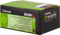 Toner Lexmark 802M