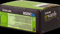 Toner Lexmark 802SC