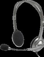 Logitech Stereo Headset H110 Schwarz / Silber