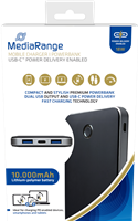 MediaRange Mobiles Ladegerät I Powerbank