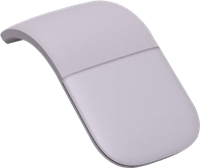 Microsoft Arc Mouse - Maus Lila