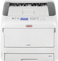 Farblaserdrucker OKI C833n