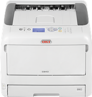 Farb-Laserdrucker OKI C843dn