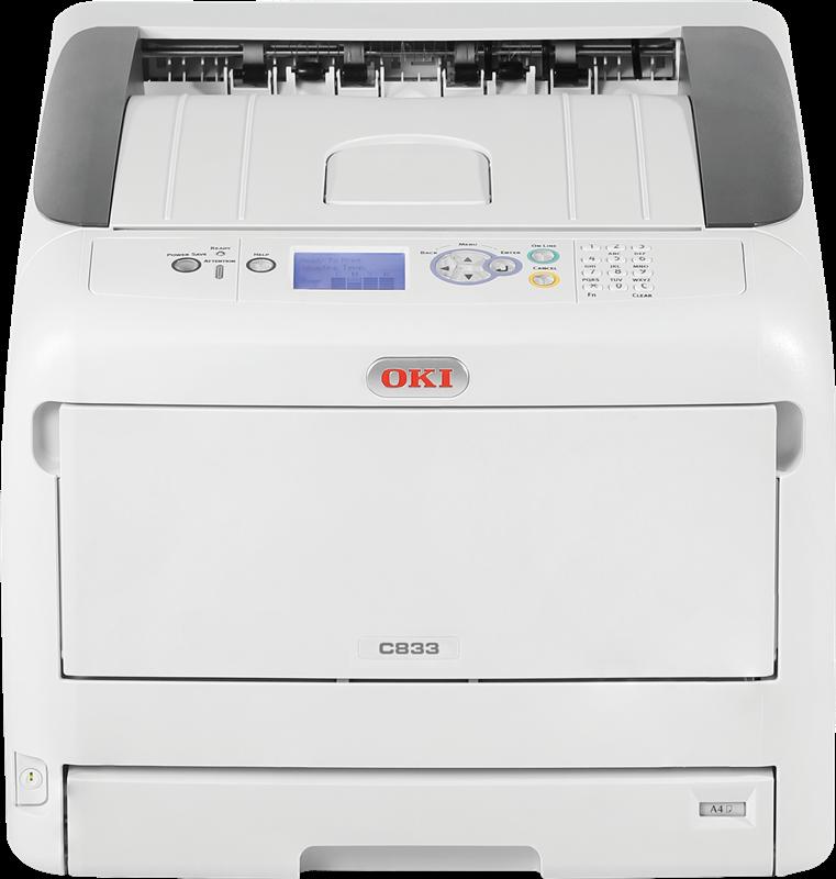 Farb-Laserdrucker OKI C833n