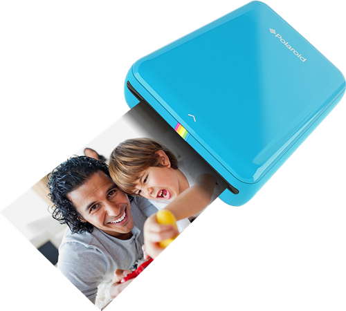 Fotodrucker Polaroid ZIP Mobile Printer blau