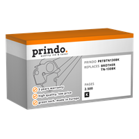 Prindo PRTBTN130BK+
