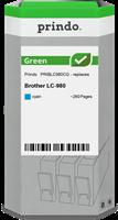 Druckerpatrone Prindo PRIBLC980CG