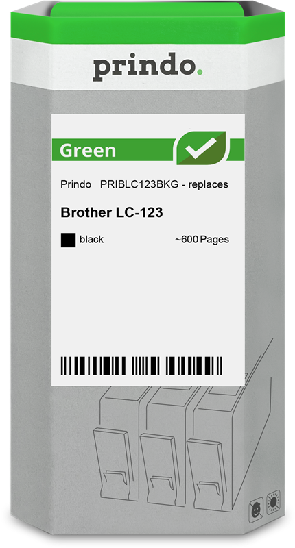 Druckerpatrone Prindo PRIBLC123BKG