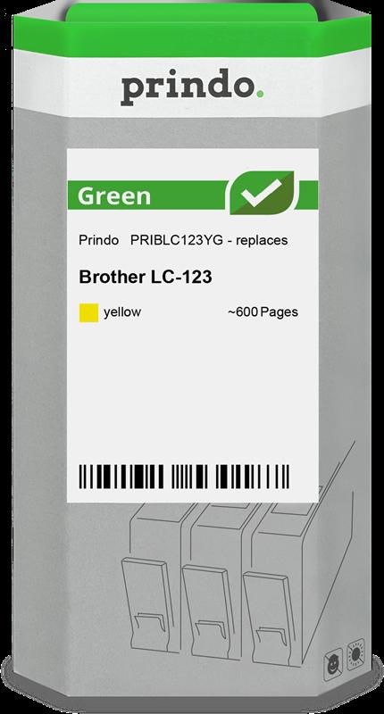 Druckerpatrone Prindo PRIBLC123YG