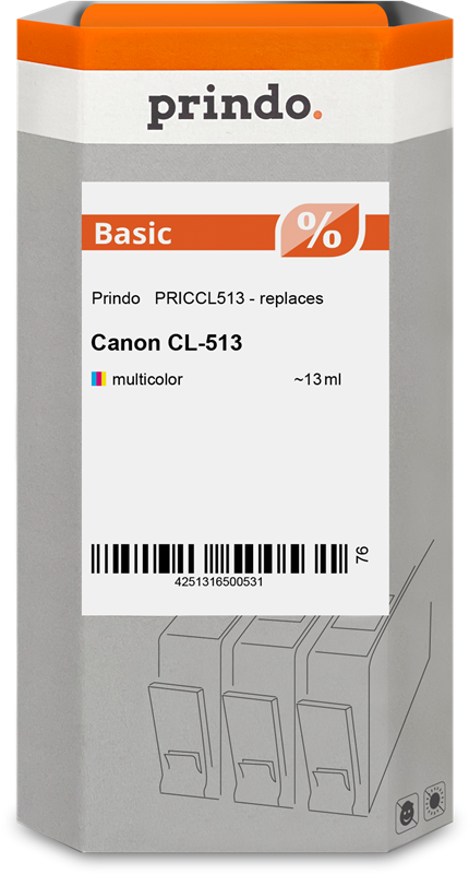 Druckerpatrone Prindo PRICCL513