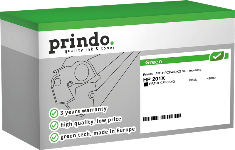 Toner Prindo PRTHPCF400XG