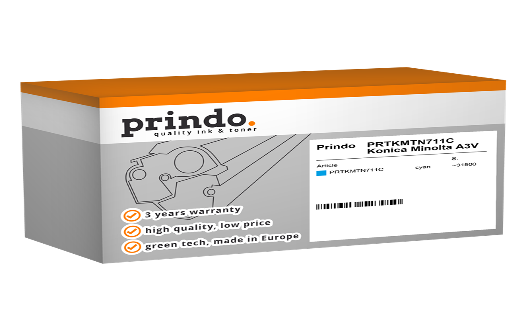 Toner Prindo PRTKMTN711C