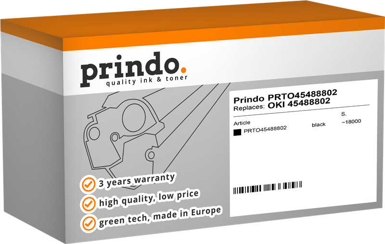 Toner Prindo PRTO45488802