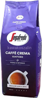 Segafredo Caffee Crema Gustoso 1kg Kaffeebohnen